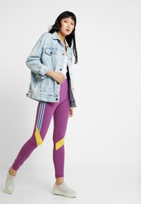 adidas Originals - TIGHTS - Leggings - Trousers - rich mauve - 1