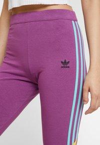 adidas Originals - TIGHTS - Leggings - Trousers - rich mauve - 5