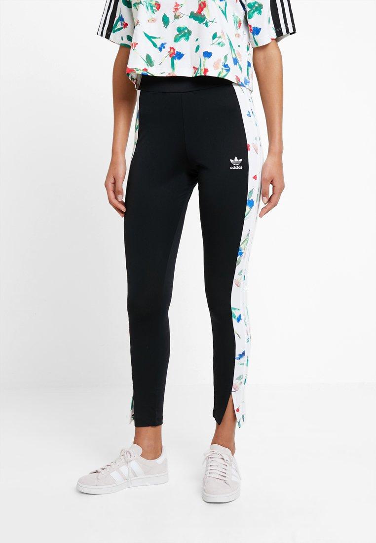 adidas Originals - TIGHTS - Leggings - Trousers - black