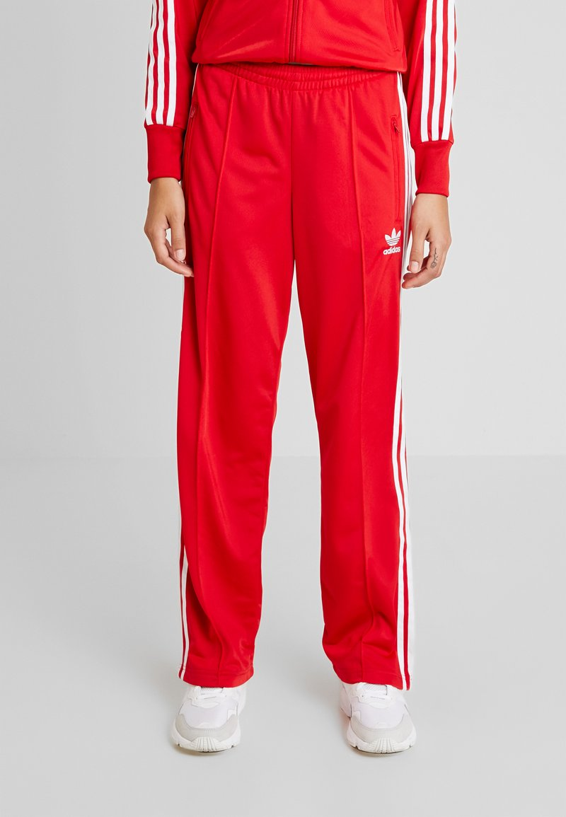 adidas Originals - FIREBIRD - Tracksuit bottoms - scarlet