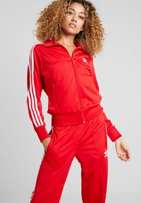 adidas Originals - FIREBIRD - Tracksuit bottoms - scarlet - 3