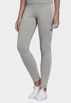 TREFOIL TIGHTS - Tracksuit bottoms - grey