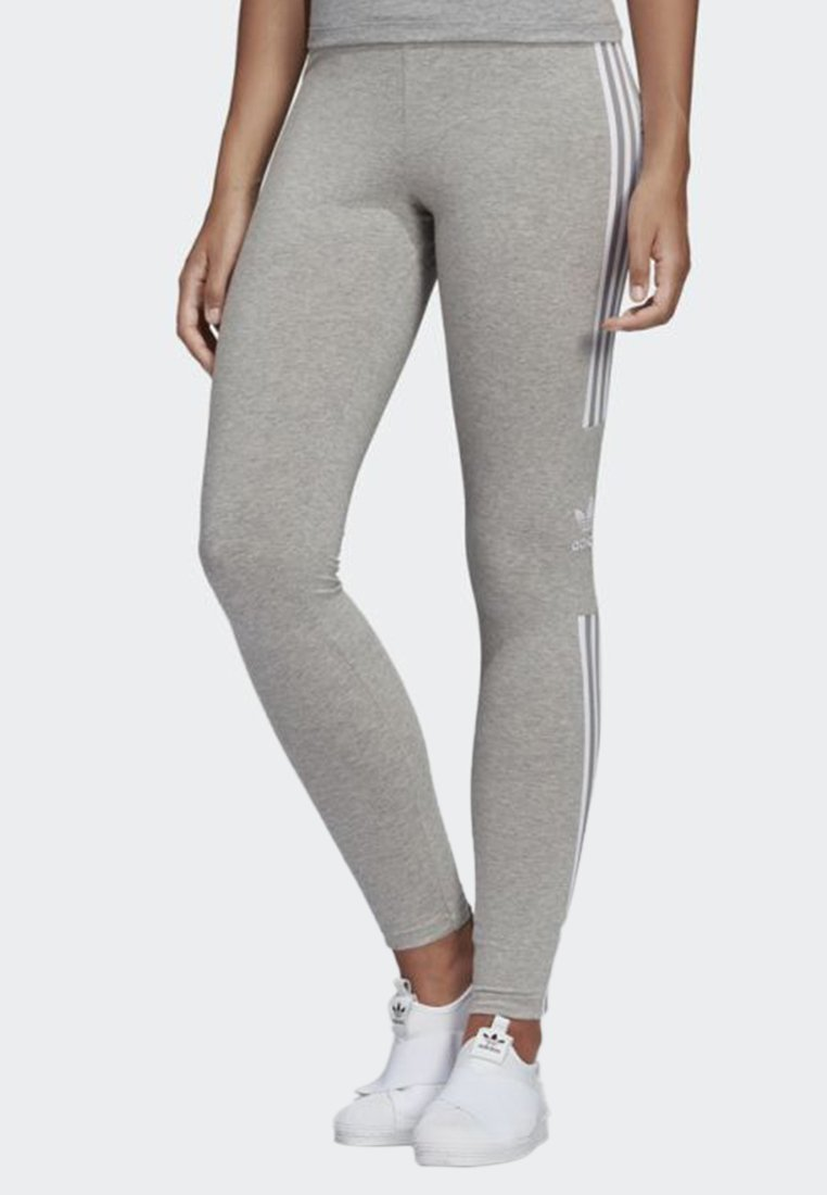 adidas Originals - TREFOIL TIGHTS - Jogginghose - grey