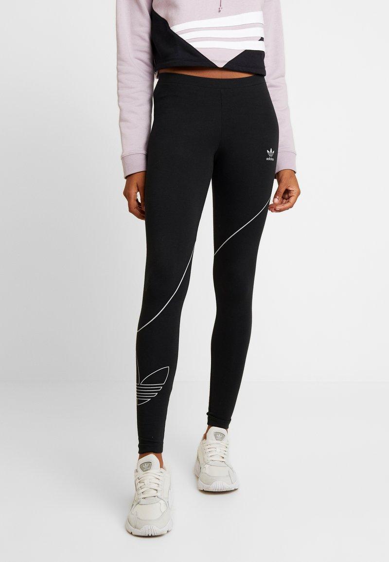 adidas Originals - TREFOIL TIGHT - Leggings - black