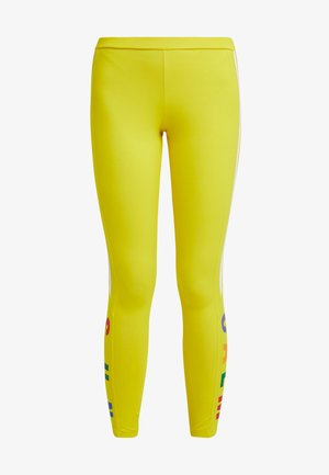 PHARRELL WILLIAMS 3 STRIPES TIGHT - Legging - yellow
