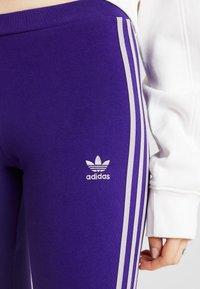 adidas Originals - ADICOLOR 3 STRIPES TIGHTS - Leggings - Trousers - collegiate purple - 4