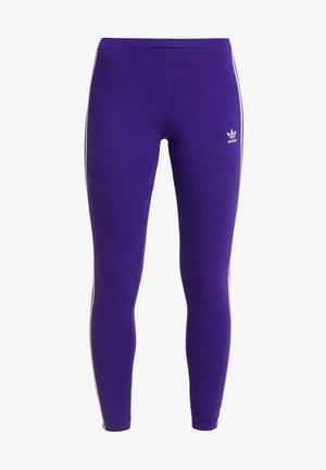 ADICOLOR 3 STRIPES TIGHTS - Legginsy - collegiate purple
