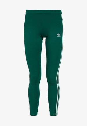 ADICOLOR 3 STRIPES TIGHTS - Leggings - Hosen - noble green
