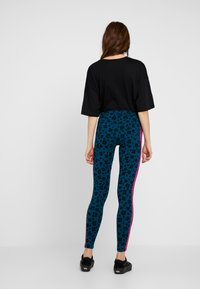 adidas Originals - BELLISTA ALLOVER PRINT TIGHT - Leggings - tech mineral/black - 2