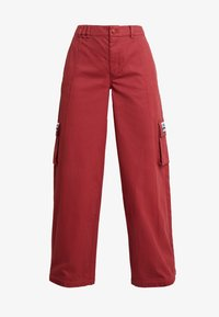 adidas Originals - TRACK PANTS - Tygbyxor - mystery red - 5