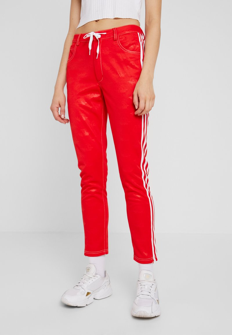 adidas Originals - TRACKPANT - Tracksuit bottoms - red
