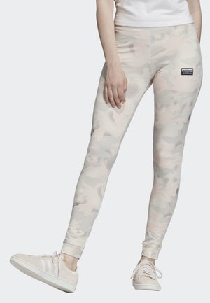 ALLOVER PRINT LEGGINGS - Leggings - white