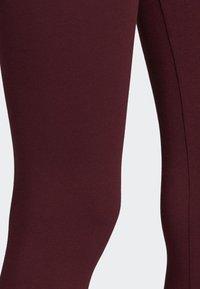 adidas Originals - LEGGINGS - Tights - red - 4
