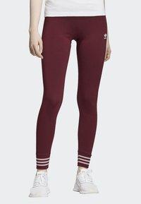 adidas Originals - LEGGINGS - Tights - red - 0