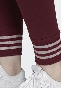 adidas Originals - LEGGINGS - Tights - red - 6