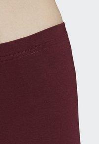 adidas Originals - LEGGINGS - Tights - red - 5