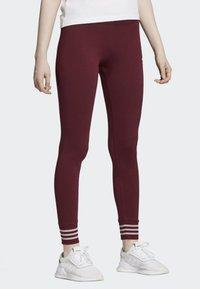 adidas Originals - LEGGINGS - Tights - red - 2