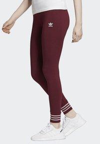 adidas Originals - LEGGINGS - Tights - red - 3