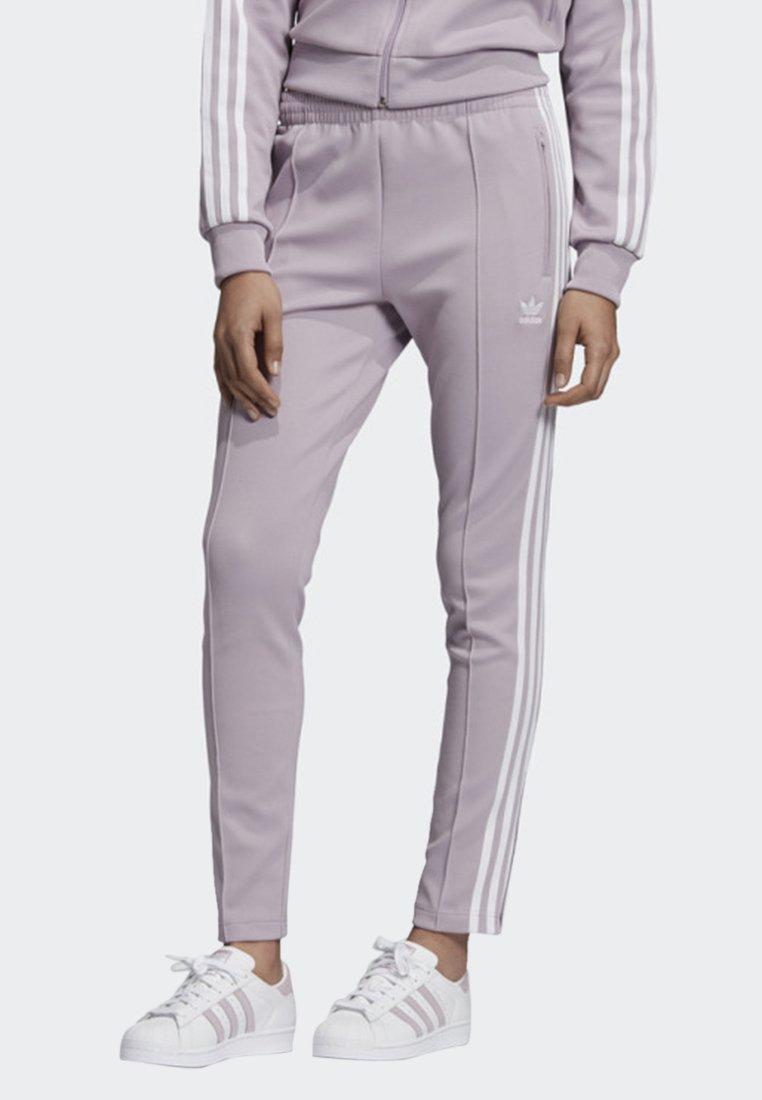 adidas Originals - SST TRACKSUIT BOTTOM - Joggebukse - purple