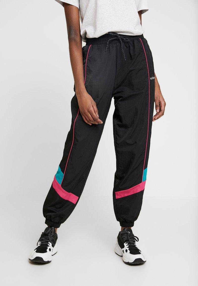 adidas Originals - TECH PANT CUFFED - Träningsbyxor - black