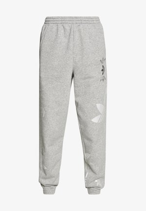 LARGE LOGO PANT - Trainingsbroek - mgreyh/white