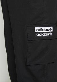 adidas Originals - TRACK PANT - Träningsbyxor - black - 4