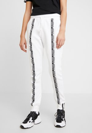 CUFF PANT - Tracksuit bottoms - white