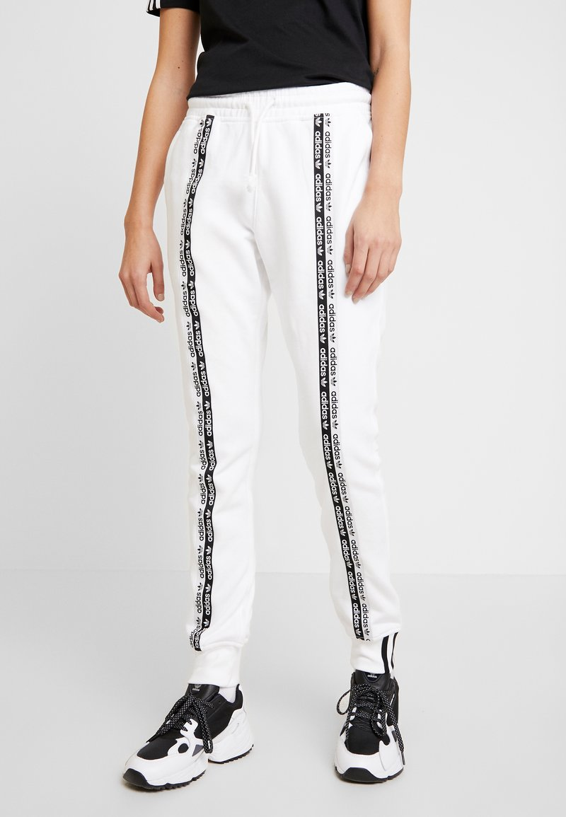 adidas Originals - CUFF PANT - Tracksuit bottoms - white