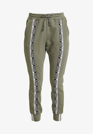 CUFF PANT - Tracksuit bottoms - legacy green