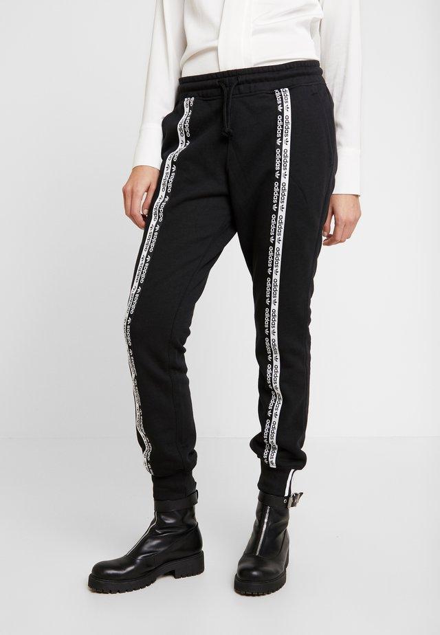 R.Y.V. CUFFED SPORT PANTS - Verryttelyhousut - black