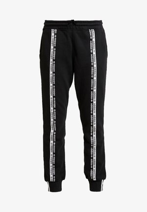R.Y.V. CUFFED SPORT PANTS - Tracksuit bottoms - black