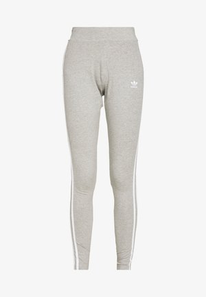 Leggingsit - medium grey heather/white