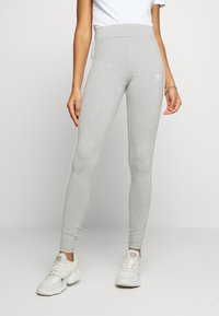 adidas Originals - 3 STRIPES TIGHT - Leggings - medium grey heather/white - 2