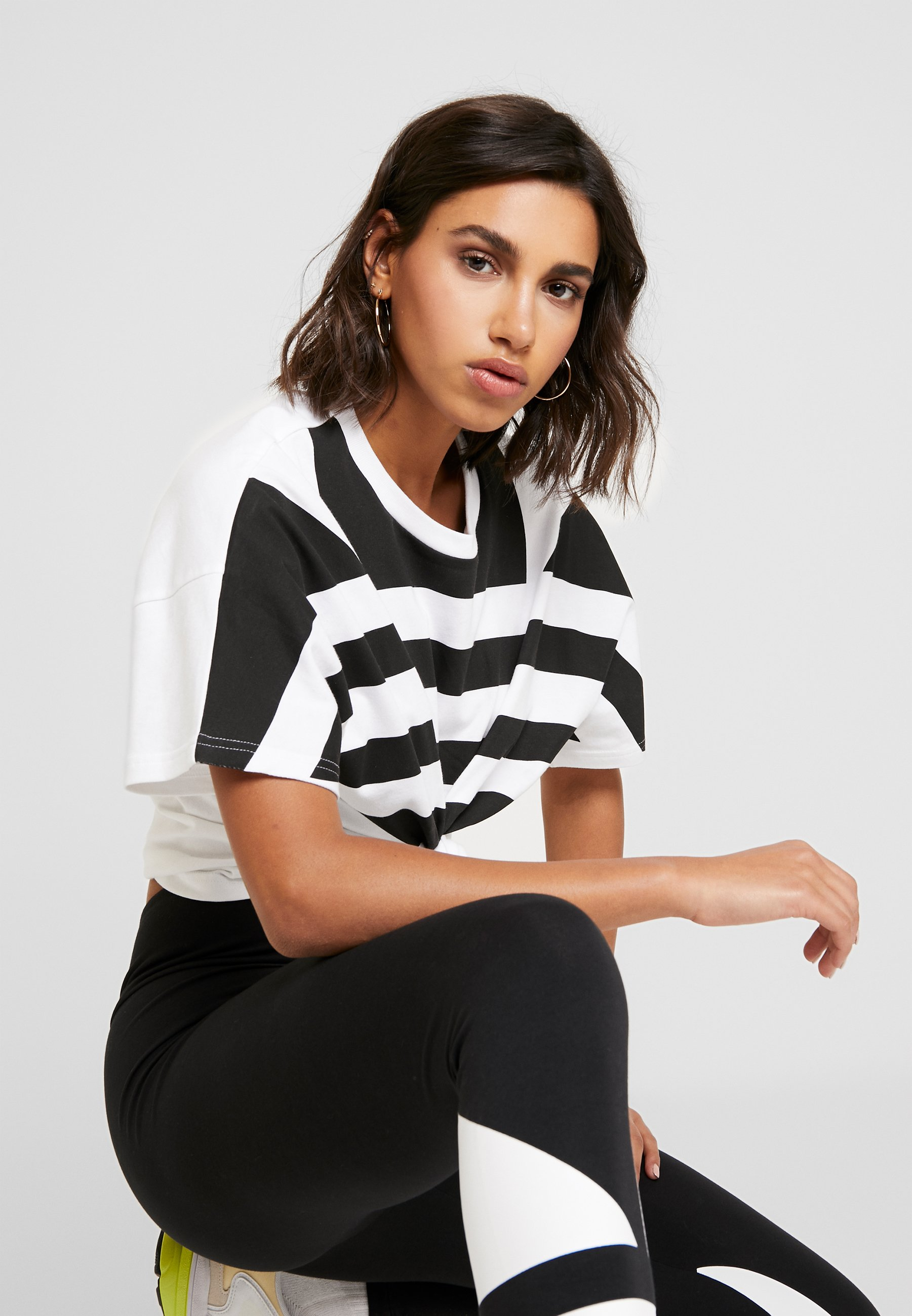 Adidas Originals Logo Tight - Legging Black/white