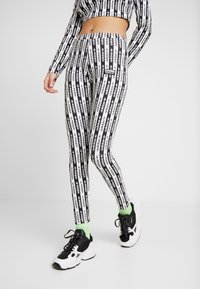 adidas Originals - TIGHTS - Leggings - black/white - 0