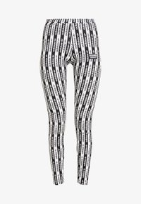 adidas Originals - TIGHTS - Leggings - black/white - 3