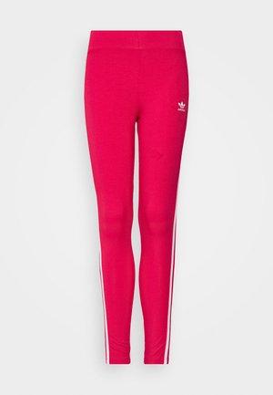 Legging - power pink/white