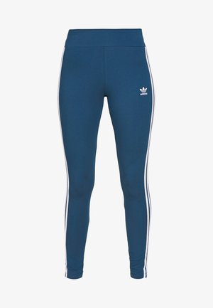 TIGHT - Leggings - Trousers - night marine/white