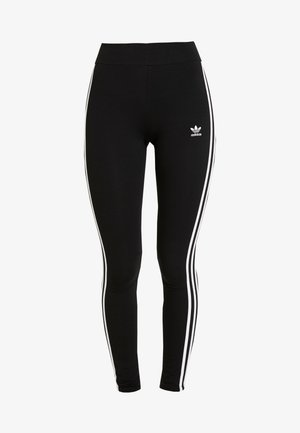 Leggings - Hosen - black/white