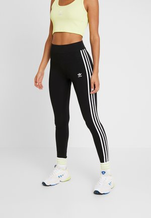 TIGHT - Leggings - Trousers - black/white
