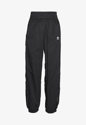 BELLISTA NYLON CUFFED SPORT PANTS - Verryttelyhousut - black
