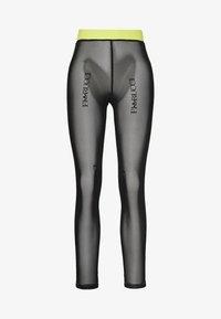adidas Originals - FIORUCCI INLINE SHEER TRANSPARENT TIGHTS - Leggings - Trousers - black - 3