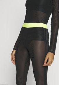 adidas Originals - FIORUCCI INLINE SHEER TRANSPARENT TIGHTS - Legging - black - 4