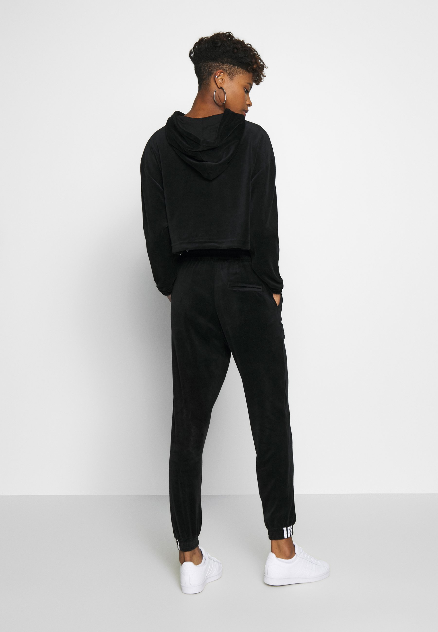 Adidas Originals Cuffed Pants - Pantalon De Survêtement Black
