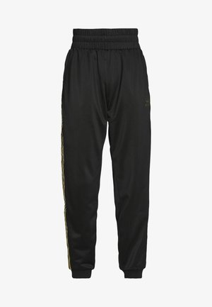 3STRIPES HIGH WAIST TRACK PANTS - Joggebukse - black
