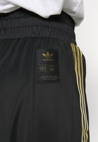 adidas Originals - 3STRIPES HIGH WAIST TRACK PANTS - Tracksuit bottoms - black - 5