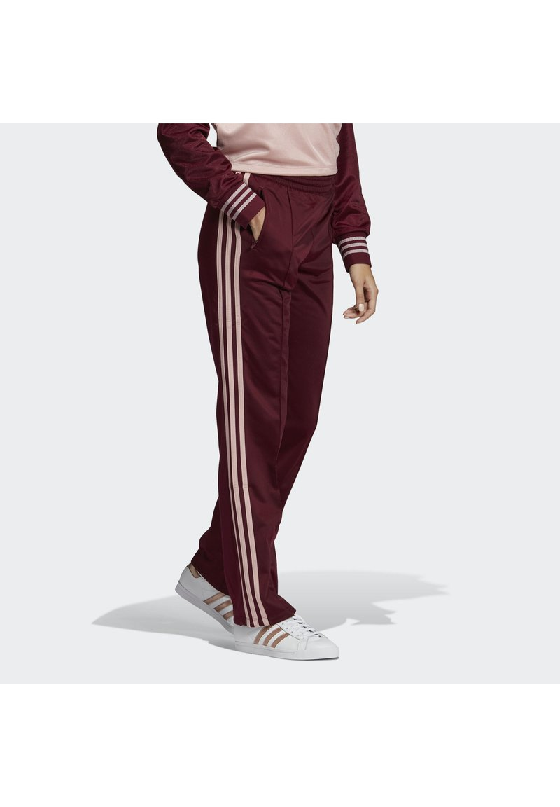 adidas Originals - FIREBIRD TRACKSUIT BOTTOMS - Tracksuit bottoms - burgundy