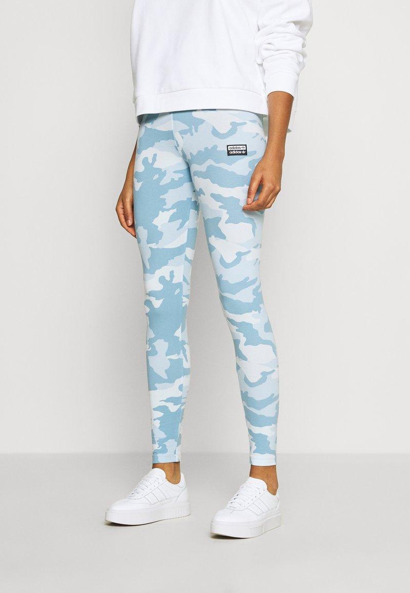 adidas Originals - TIGHTS - Legíny - sky tint/shade blue/easy blue