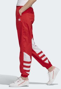 adidas Originals - BIG LOGO TRACKSUIT BOTTOMS - Träningsbyxor - red - 2