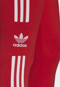 adidas Originals - TREFOIL LEGGINGS - Leggings - Trousers - red - 6
